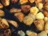 Potatoes Roasting
